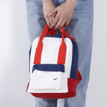 Back To School Stylish Casual Hot Deal On Sale Comfort College Children Korean Canvas Backpack [6451243844]