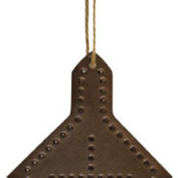 Punched Tin Church Ornament