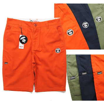 Vintage Men Casual Pants Shorts [6543159491]