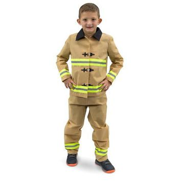 Fearless Firefighter Children's Costume, 10-12