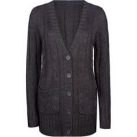 FULL TILT Essential Cable Knit Womens Cardigan 204886110 | Sweaters & Cardigans | Tillys.com