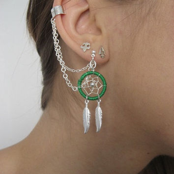 Dream Catcher Ear Cuff Best Dream Catcher Cartilage Earring Products on Wanelo 7
