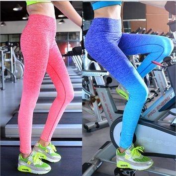 PEAPGB2 Leggings Sports Slim Pants Legging Workout Sport Fitness Girls Bodybuilding And Running Gym Clothes