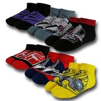 Transformers Kids Socks 6-Pack