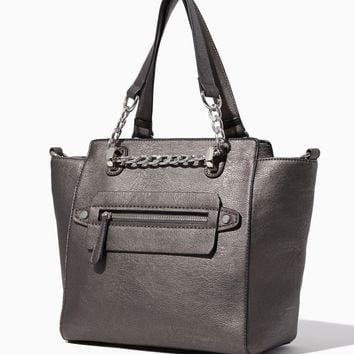 Nyssa Chain Satchel | Fashion Handbags & Purses | charming charlie
