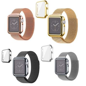 Apple Watch Series 3/2 /1 End Full Protect Case+Screen Cover for iWatch 38/42mm