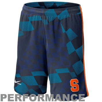 Nike Syracuse Orange Lacrosse Digi Training Short 1.3 - Navy Blue