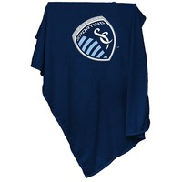 Sporting Kansas City MLS Sweatshirt Blanket Throw