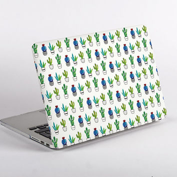 Hard Plastic Cactus Pattern MacBook Case Design for MacBook Pro Retina Display and MacBook Air Case
