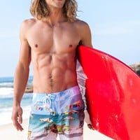 Sauvage Palm Beach Surf Shorts | High End Swim Trunks