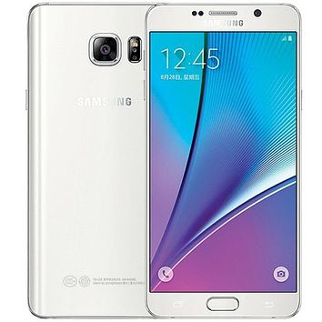 """Samsung galaxy Note 5 Note5 N920 4GB RAM 32GB ROM Android Smart Phone 5.7""""inch Octa Core 16MP 4G refurbished phone"""