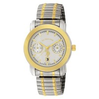 U.S. Polo Assn. Classic Men's USC80050 Two-Tone Chrono-Style White Dial Expansion Watch
