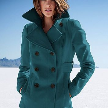 VS Peacoat - Victoria's Secret