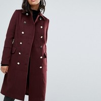 Boohoo Double Breasted Coat at asos.com