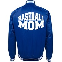 Baseball Mom Spring Sport Jacket: This Mom Means Business!
