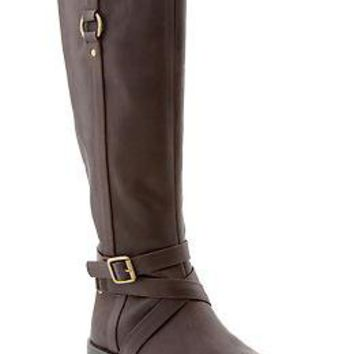 Women's Tall Buckle-Strap Boots | Old Navy
