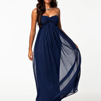 Dreamy Dress - Nly Trend - Navy - Party Dresses - Clothing - Women - Nelly.com