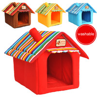 Washable Small Dog / Cat Pet Bed / House