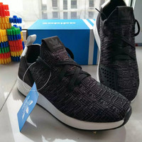 """""""Adidas"""" Fashion Casual Men Breathable Comfortable Fly Weave Sneakers Running Shoes"""