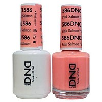 DND - Gel & Lacquer - Pink Salmon - #586