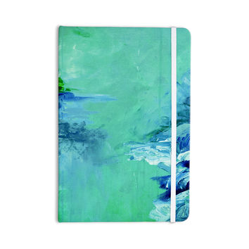 "Ebi Emporium ""Winter Dreamland 6"" Green Blue Everything Notebook"