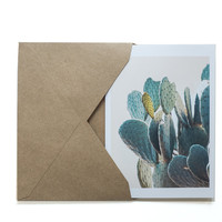 Set of CACTUS CARDS-Blank Inside-or 5x7 PRINTS