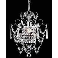 Chrome Crystal Chandelier | Overstock.com
