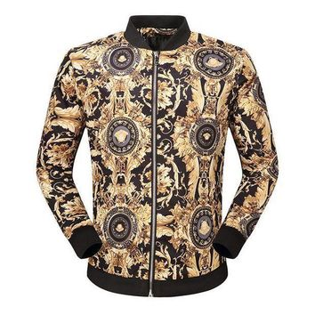 PEAPON Day First Boys & Men Versace Cardigan Jacket Coat