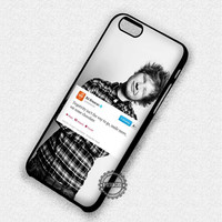 Smile More Ed Sheeran - iPhone 7 6 Plus 5c 5s SE Cases & Covers