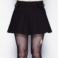 Hell Bunny Infamy Buckle Skirt :: VampireFreaks Store :: Gothic Clothing, Cyber-goth, punk, metal, alternative, rave, freak fashions