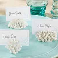 Coral Place Card Holder (Set of 6)