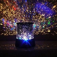 Lowpricenice(TM) Fairy Romantic Colourful Cosmos Star Master LED Projector Lamp Night Light Gift