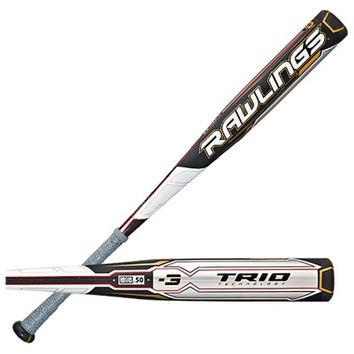 2015 Rawlings TRIO End-Loaded BBCOR Baseball Bat (-3) BBRTTE - 34