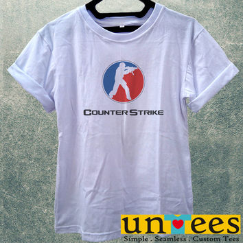 Low Price Women's Adult T-Shirt - Counter Strike design