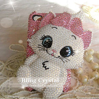 SWAROVSKI Sales - Bling Bling Iphone 5 / Samsung S3 phone case with elegant MARIE CAT