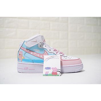 Nike Air Force 1 Mid '07 1077059-825 Size 36-40