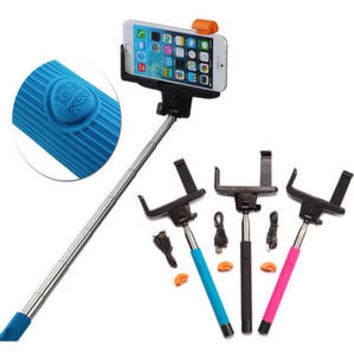 "Walmart: Carco Selfie Go Sticks Built-In Bluetooth Remote Shutter 42"" Selfie Stick for Apple & Android, Assorted Colors"