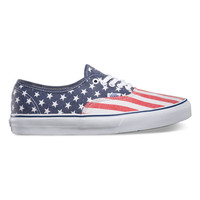 Vans Van Doren Authentic Womens Shoes Stars/Stripes  In Sizes