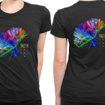 Muse The Second Law Cover Colorize 2 Sided Womens T Shirt