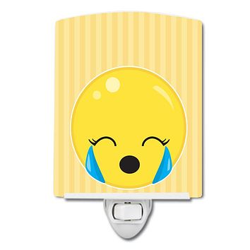 Crying Face #2 Ceramic Night Light BB8734CNL