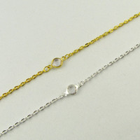 White Crystal Bracelet / Tiny Gold Bracelet / Dainty Minimalistic Jewelry / Simple Everyday Bracelet / 14 Gold or Silver Bracelet