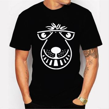 New Arrival Fashion Men's Summer cute Printed T-shirt Design Male Customized Tops Popular Funny Casual Tee