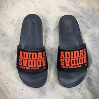 Adidas Benassi Swoosh Sandals Style #1 Casual Slippers - Best Online Sale