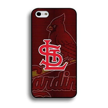 Style108 Artistical Series St. Louis Cardinals Graphic Baseball Team Mark Snap On Case Cover for Iphone 6 / 4.7 Inch