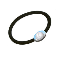 Sporty Volleyball Hair Band Tie Elastic Ponytail Holder