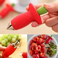 1Pcs Strawberry & Tomato Stem Remover Gadget