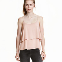 H&M Flounced Camisole Top $17.99