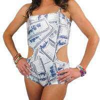 Hundred Dollar Bills Rave One Piece