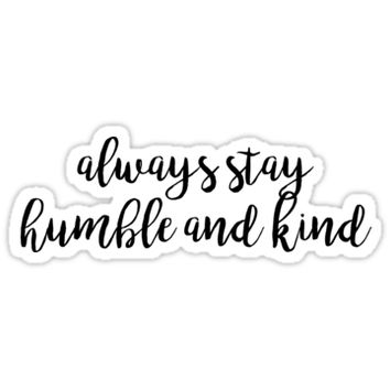 'HUMBLE AND KIND | Tim McGraw' Sticker by annacush
