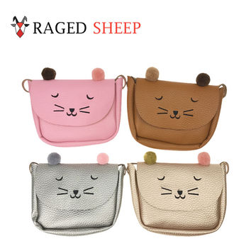 Raged Sheep Girls Small Coin Purse Change Wallet Kids Bag Coin Pouch Children's Wallet Money Holder Lovely Kids Gift Cat Bags
